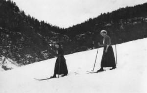 Monika und Anna Hamberger