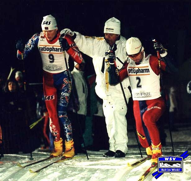 Start 1. Sprint-Weltcup 1996