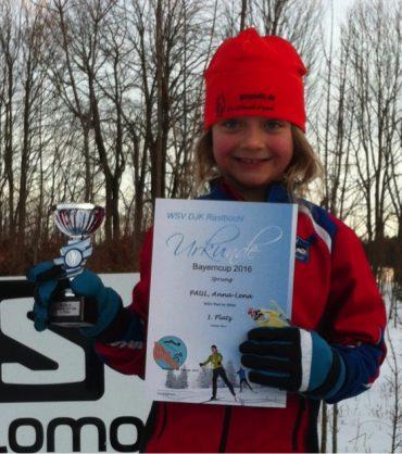 Anna-Lena Paul und Sebastian Schwarz siegen beim Bayerischen Schülercup