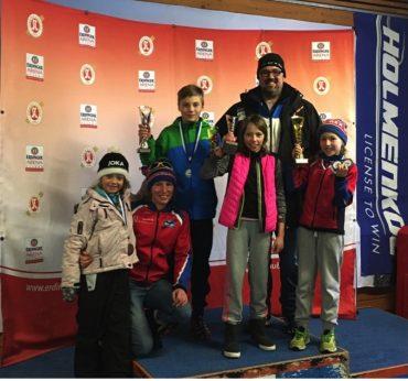 Gesamtwertung des Bayerischen Schülercups Skispringen/NK – 7 mal Podest für den WSV