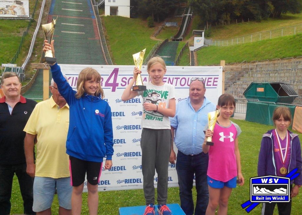Trine gewinnt bei den Mädchen 2, Magda wird Vierte