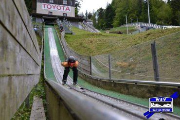 Sommertraining unserer Skispringer