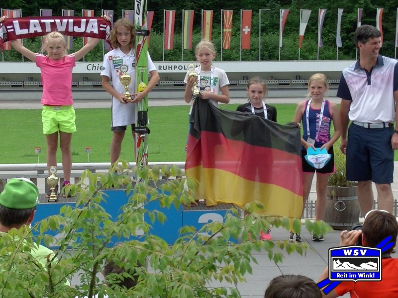 3. Platz für Trine beim FIS Schüler Grand Prix