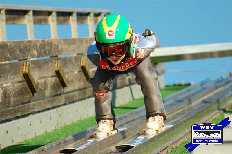 Haile bei seinem ersten Wettkampf auf der K30. Foto: Axel Malcher