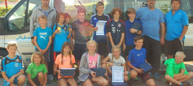 Trine und Sebastian gewinnen Bayerischen Schülercup