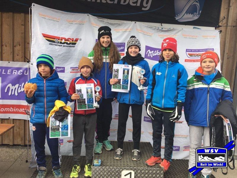 Die erfolgreichen Chiemgauer Teilnehmer beim DSC in Winterberg