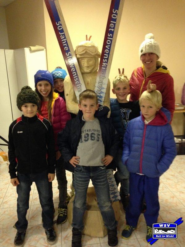 WSV-Skispringer feiern 50 Jahre Skisprungfreundschaft