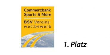 1.Platz beim BSV Vereinswettbewerb