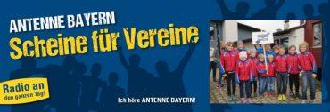 ANTENNE BAYERN – Scheine für Vereine