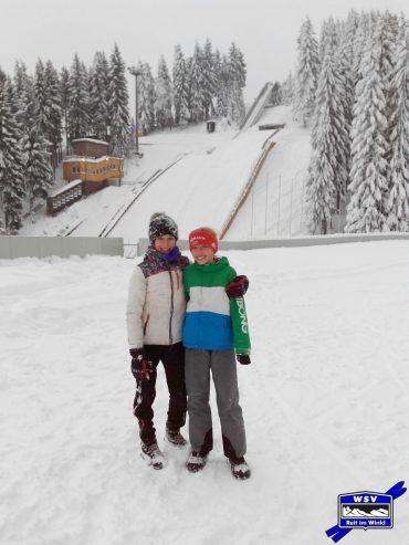 Unsere Skispringerinnen beim DSC