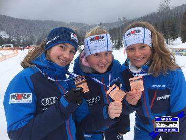 Bayerische Meisterschaften im Langlauf im Hohenzollern –Skistadion am Arbersee am 10. und 11.02.2018
