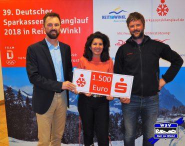 Wintersportverein erhält Spende für die Jugendarbeit
