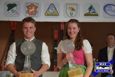 Simon Pfaffinger wurde Gesamtsieger in der Klasse S15 männlich