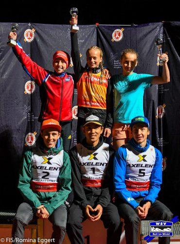 2. Platz für Trine beim FIS Youth Cup
