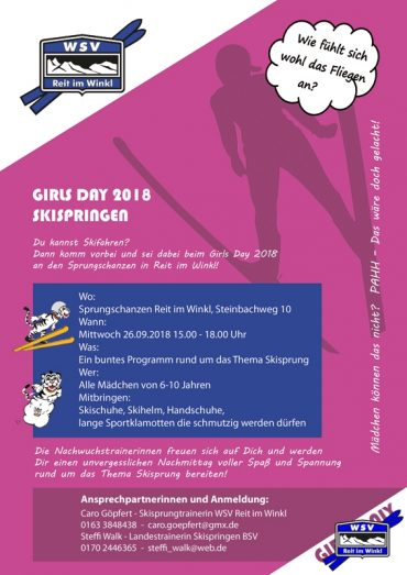 """Girls Day"" Skispringen 2018"