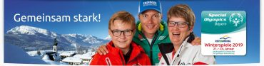 HELFERAUFRUF  für die Special Olympics Bayern