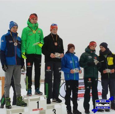 Anderl Schwarz gewinnt den Deutschland Pokal J17 in der Kombination in Oberhof