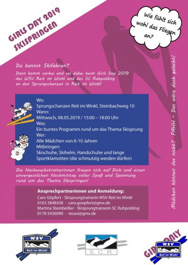 """Girls Day"" Skispringen 2019"