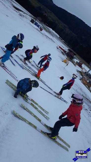Skifahren bei +16 °C